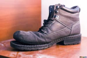 Worn Out Boot